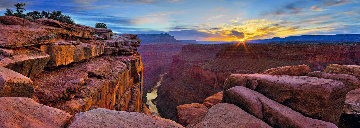 Blaze of Beauty Panorama - Peter Lik