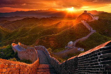 Great Wall  Panorama - Peter Lik