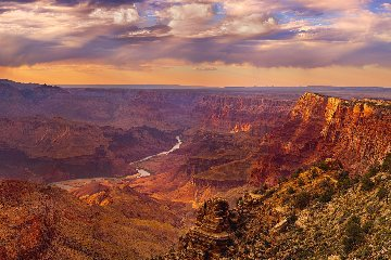 Seventh Wonder 2013 Panorama by Peter Lik