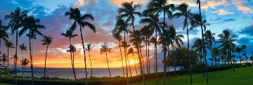 Pacific Nights Panorama by Peter Lik