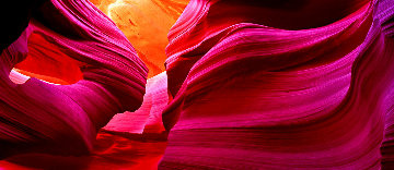 Angel's Heart (Antelope Canyon) Panorama by Peter Lik