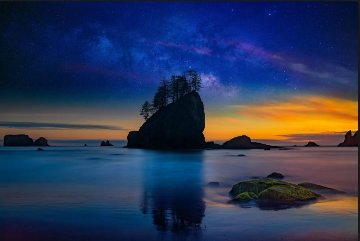 Island in the Sky Panorama by Peter Lik