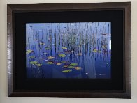 Lilies of the Pond Panorama by Peter Lik - 1
