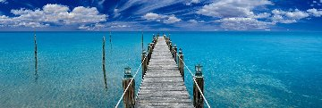 Tranquil Blue Panorama - Peter Lik