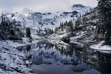 Cascade Reflections Panorama by Peter Lik