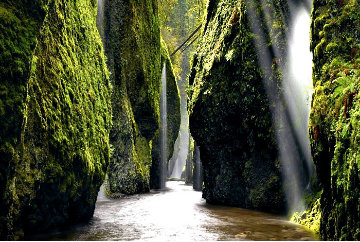 Allure (Columbia River Gorge Panorama by Peter Lik