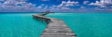 Island Dreams Panorama by Peter Lik