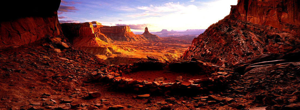 Ancient Spirit Panorama by Peter Lik