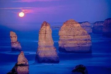 12 Apostles Moonglow Panorama - Peter Lik