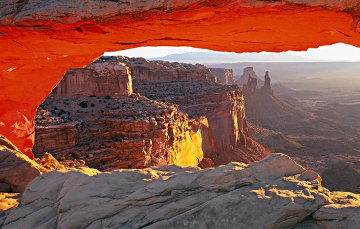 Echoes of Silence (Canyonlands N.P., Utah) AP Panorama - Peter Lik