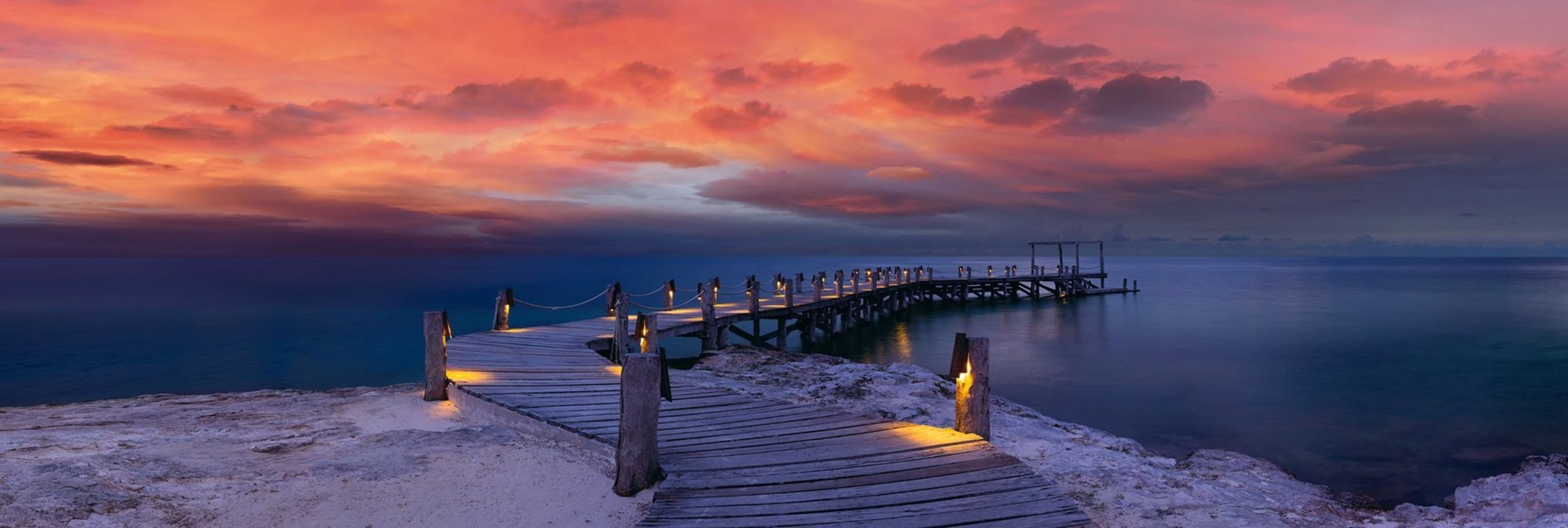 Enchanted Jetty 1.5M Huge! Panorama by Peter Lik