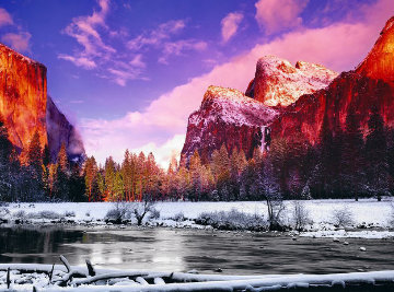 Icy Waters 2002 Panorama by Peter Lik