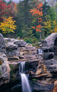 Screw Auger Falls Panorama by Peter Lik