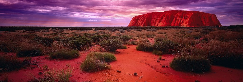 Red Dawn Panorama by Peter Lik