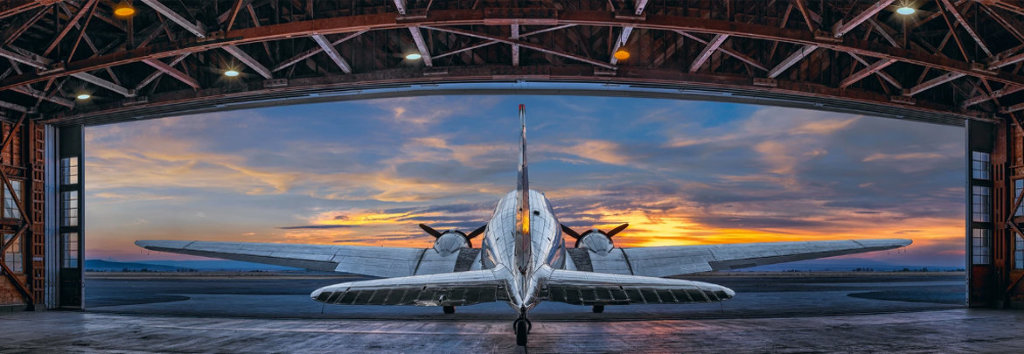 First Flight 2019 Panorama by Peter Lik