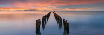 Painted Shores  Panorama - Peter Lik