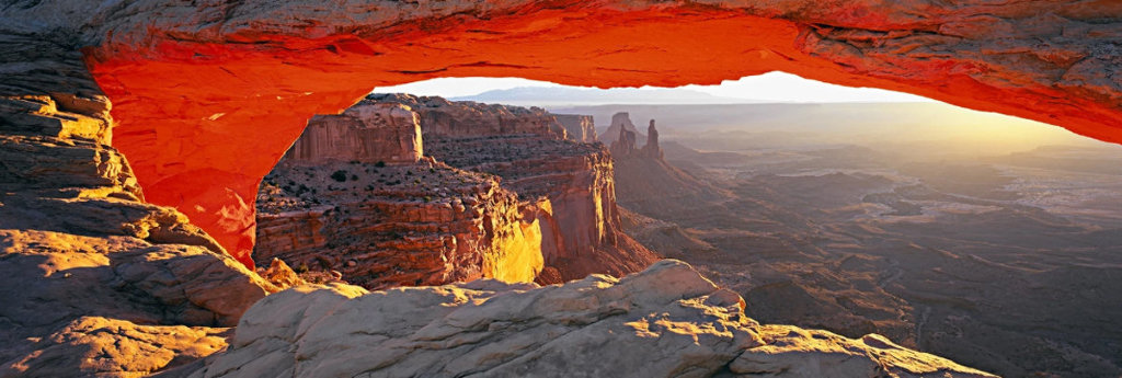 Echoes of Silences Panorama by Peter Lik