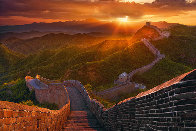 Great Wall Panorama by Peter Lik - 0