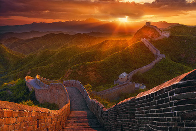 Great Wall by Peter Lik