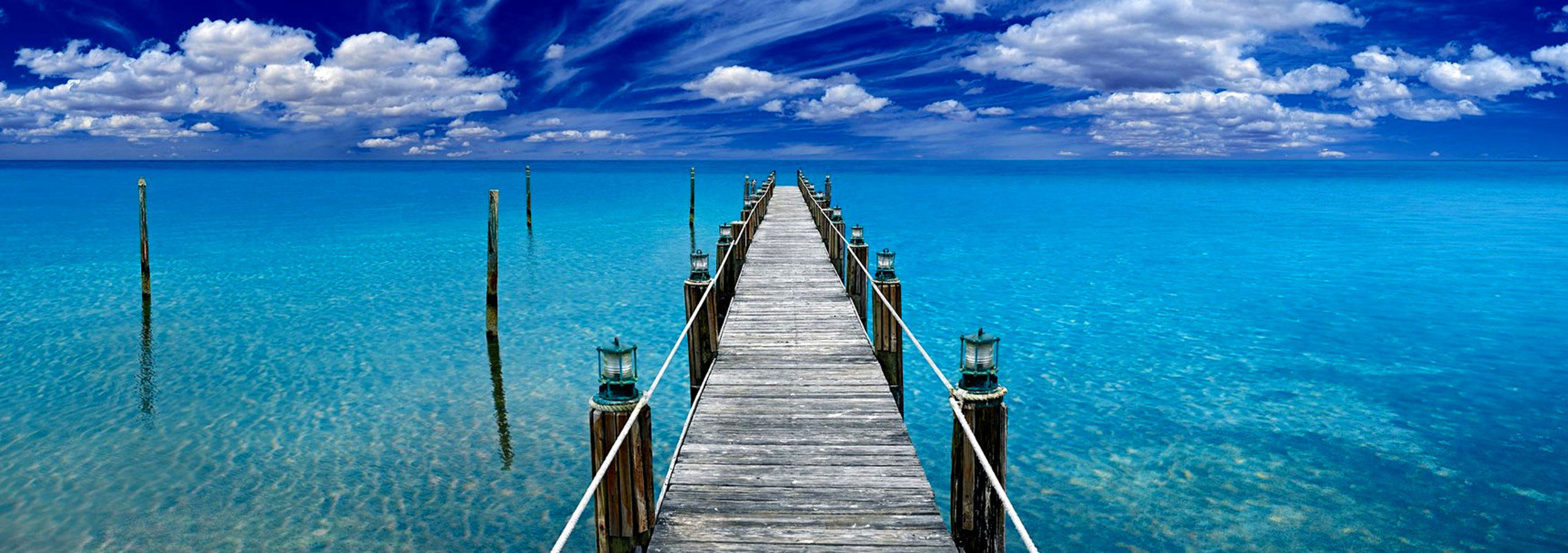 Tranquil Blue 1.5M Huge Panorama by Peter Lik