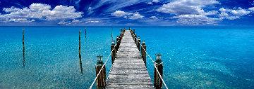 Tranquil Blue  Panorama - Peter Lik