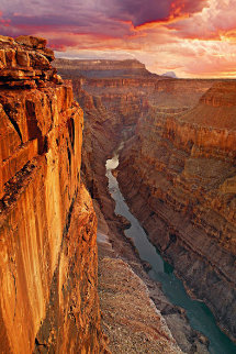 Edge of Time (Grand Canyon Arizona) Panorama - Peter Lik