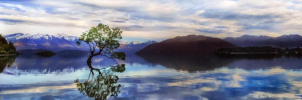 Lake Wanaka   Panorama by Peter Lik