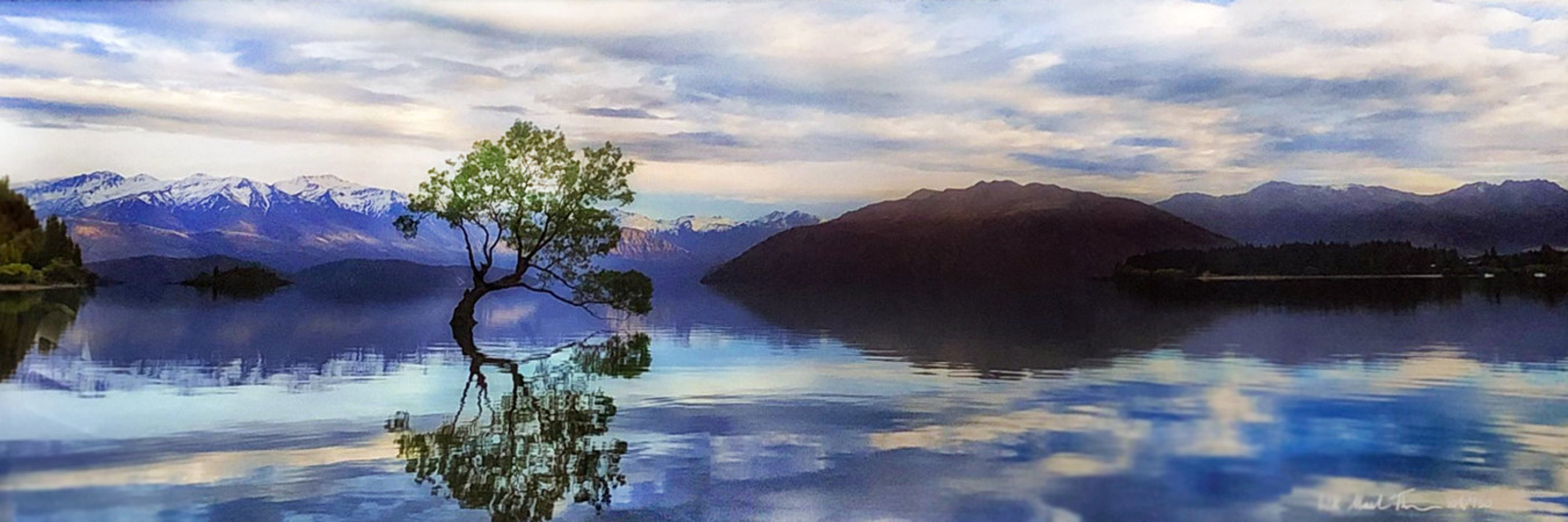 Lake Wanaka   Panorama by Peter Lik