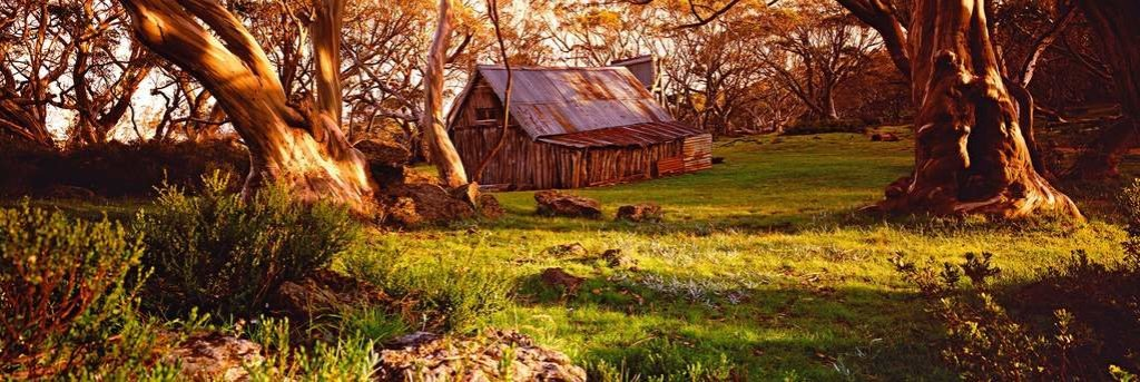 Wallace's Hut Panorama by Peter Lik