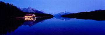 Maligne Dusk 1.5 Huge Panorama - Peter Lik