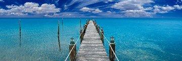 Tranquil Blue 1.5M Huge! Panorama - Peter Lik