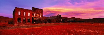 Bodie Ghost Town Panorama by Peter Lik