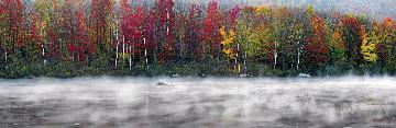 Misty River 1.5M Super Huge! Panorama - Peter Lik