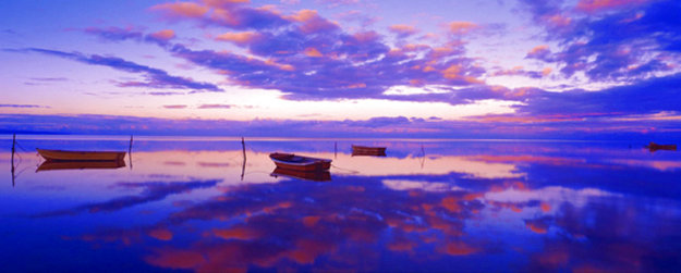 Pacific Reflections Panorama by Peter Lik