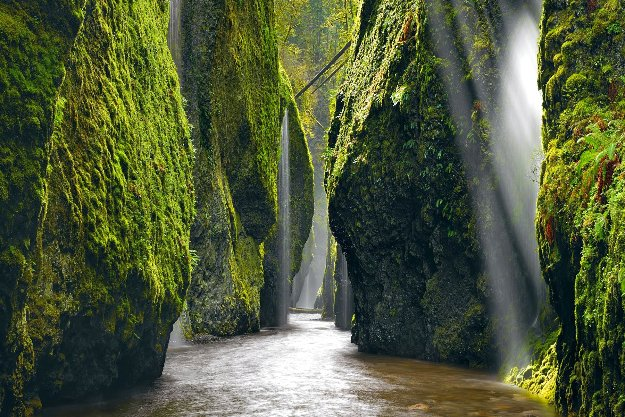 Allure, Columbia Gorge Panorama by Peter Lik