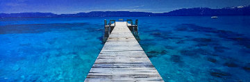 Tahoe Jetty 1.5M Huge!! Panorama - Peter Lik