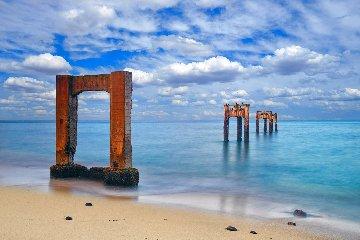 Pacific Tides Huge! Panorama - Peter Lik