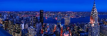 Jewels in the Crown 1.5M Huge  New York Panorama - Peter Lik
