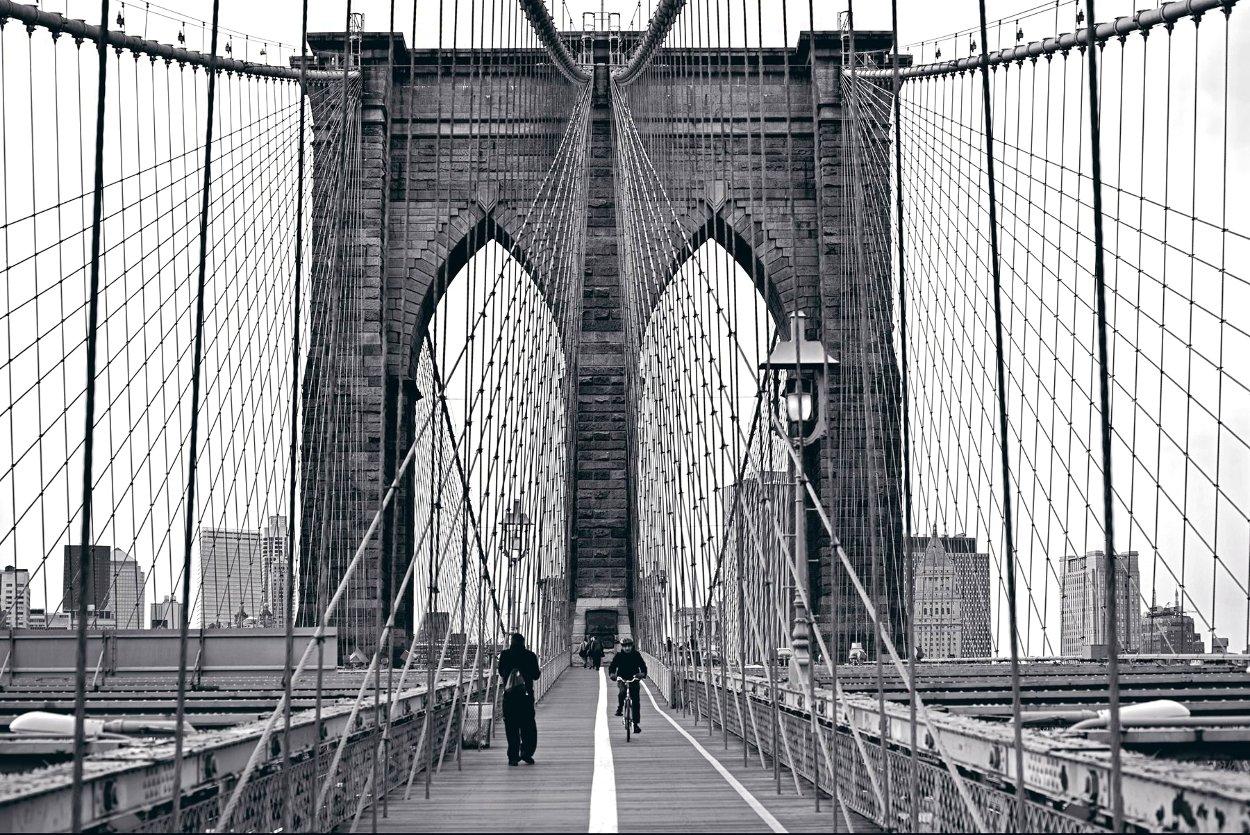 Manhattan Crossing Panorama by Peter Lik
