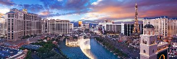 Epic Skies 2M Super Huge   Las Vegas Panorama - Peter Lik