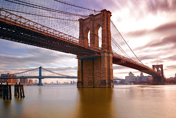East River Crossing 1.5M Huge Panorama - Peter Lik