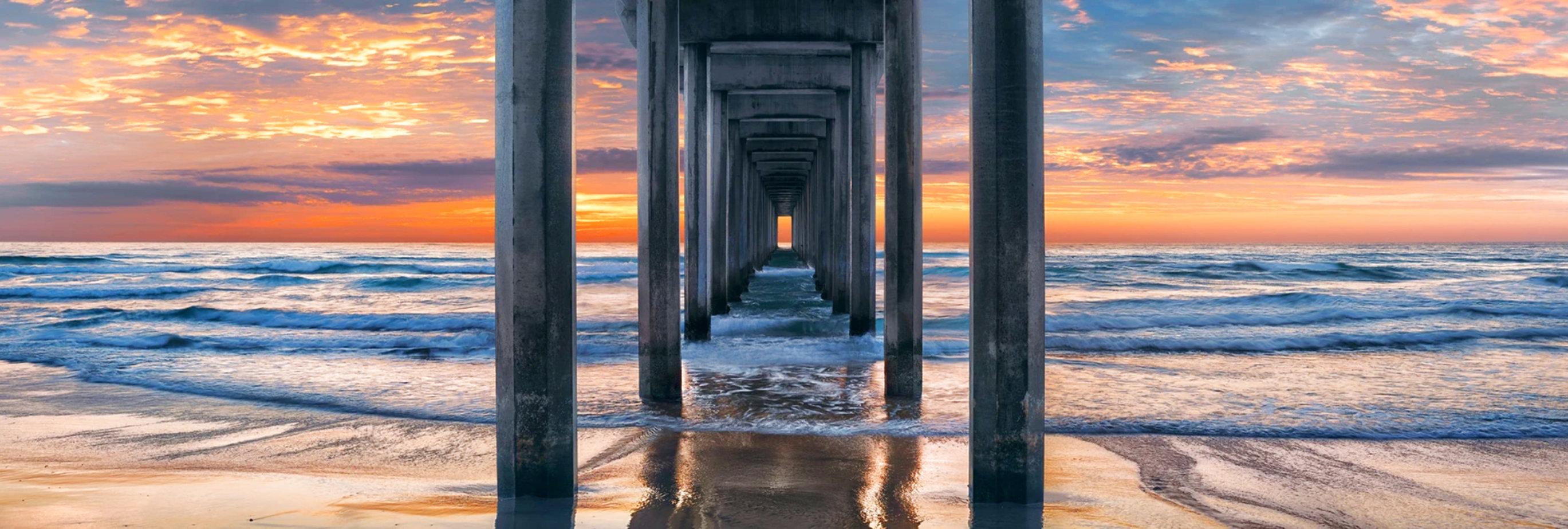 Coastal Dreams-1.5M Super Huge Panorama by Peter Lik