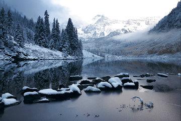 Snow Mass Silence Panorama - Peter Lik