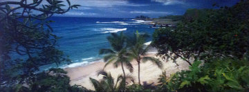 Hamoa Beach, (Maui, Hawaii)  (Small edition 100) Panorama by Peter Lik