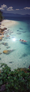 Coral Sea Dreaming (small edition 100) (Nudey Beach, Fitzroy Island, Queensland) Panorama by Peter Lik
