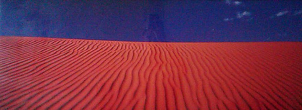 Desert Dunes (Simpson Desert, Northern Territory) Panorama by Peter Lik