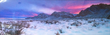 Glowing Sunset AP (Red Rock Canyon, Nevada) Panorama by Peter Lik
