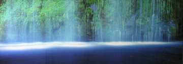 Tranquility (Mossbrae Falls, California) Panorama by Peter Lik