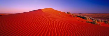 Outback Glow (Simpson Desert, Northern Territory, Australia) Panorama by Peter Lik
