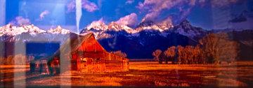 Nikk's Hut Panorama by Peter Lik